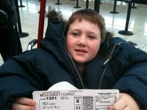 Christopher's Ticket